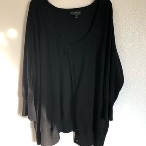 Black Cardigan - Lane Bryant